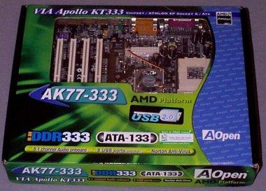 AOpen AK77-333 – KT333 ploča