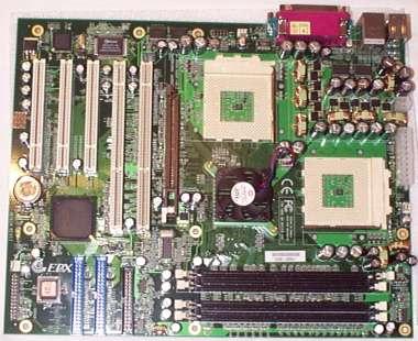 EPoX M762A, AthlonMP 2000+ i Infineon PC2100 ECC memorija