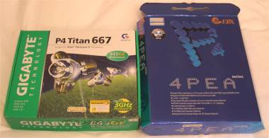 Gigabyte GE667 Pro vs EPoX 4PEA+