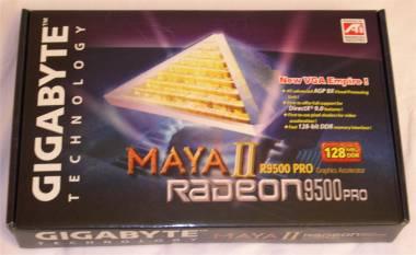 Gigabyte Maya II Radeon 9500 Pro