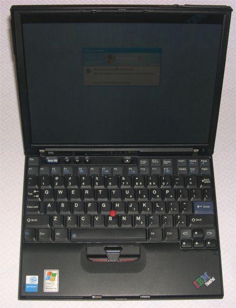 Mali zvrk zvan IBM X40