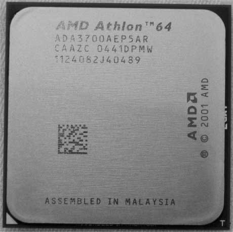 Athlon 64 3700+ – kralj Socketa 754