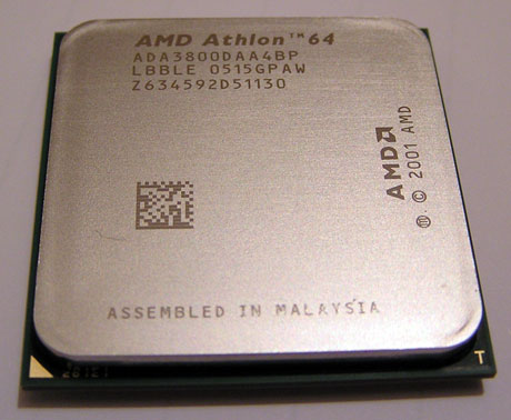 Athlon 64 3800+ Venice – silicijska evolucija