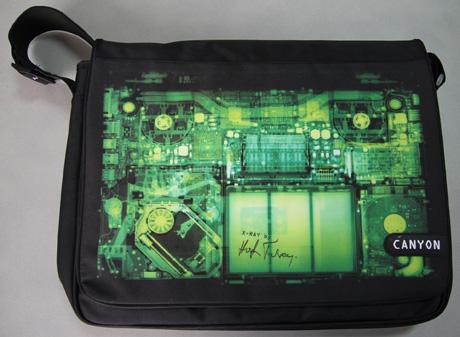 Canyon X-Ray Messenger Bag, CNL – MS007X miš & CNL – HP03X slušalice