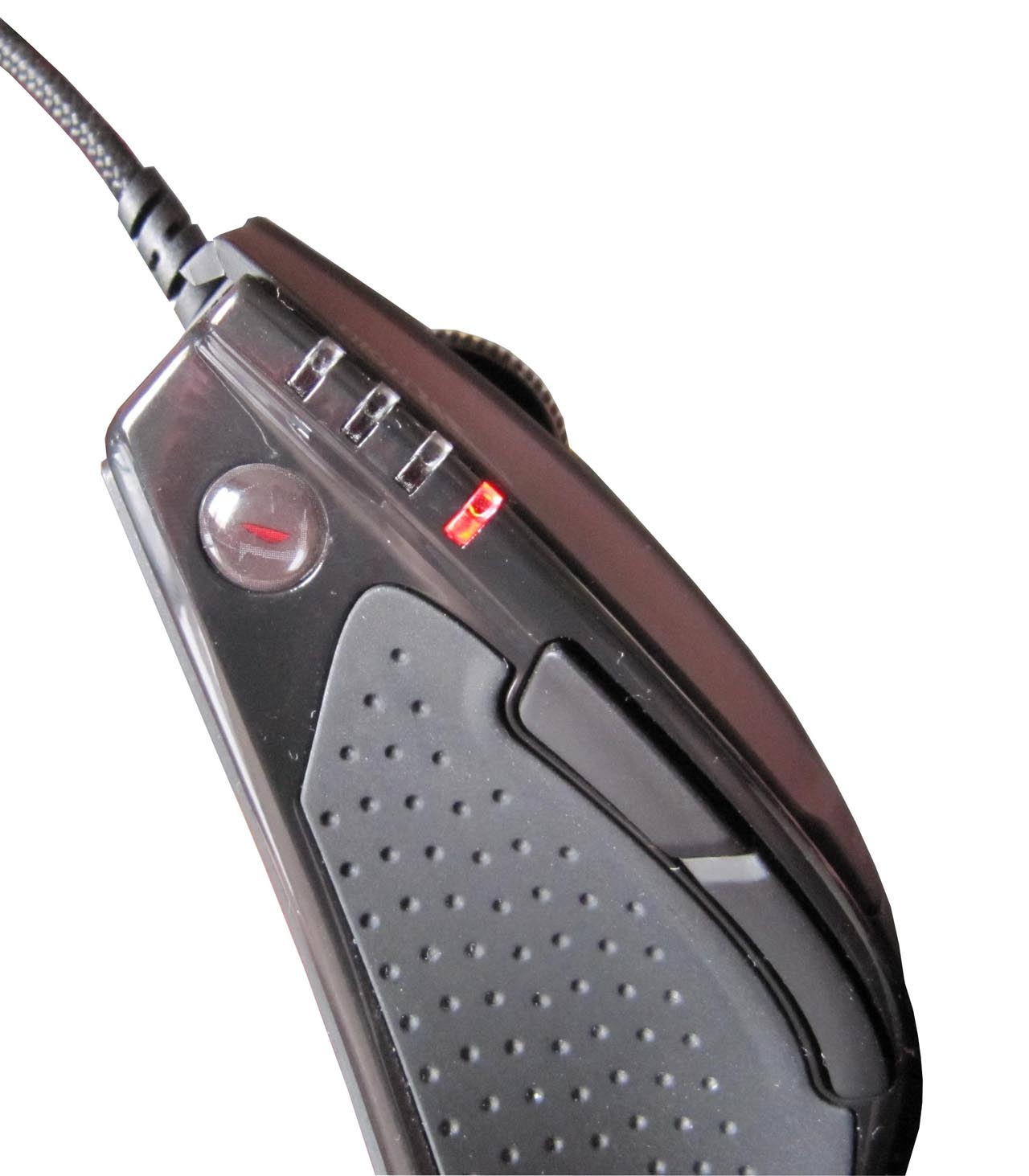 ... Gigabyte Ghost GM-M8000X M8000 Xtreme Black 6000DPI Laser Gaming Mouse