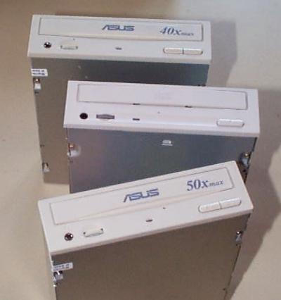 Obračun ATAPI CD-ROM jedinica