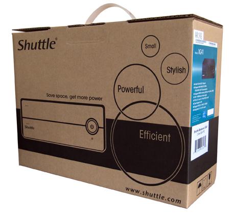 Shuttle XG41 Barebone – minijatura