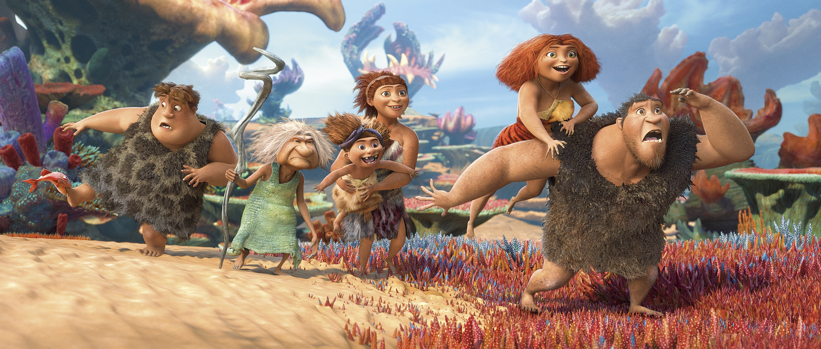 """HP osigurao vrhunsku tehnologiju za  avanturističku komediju """"Croods"""" studija DreamWorks Animation"""