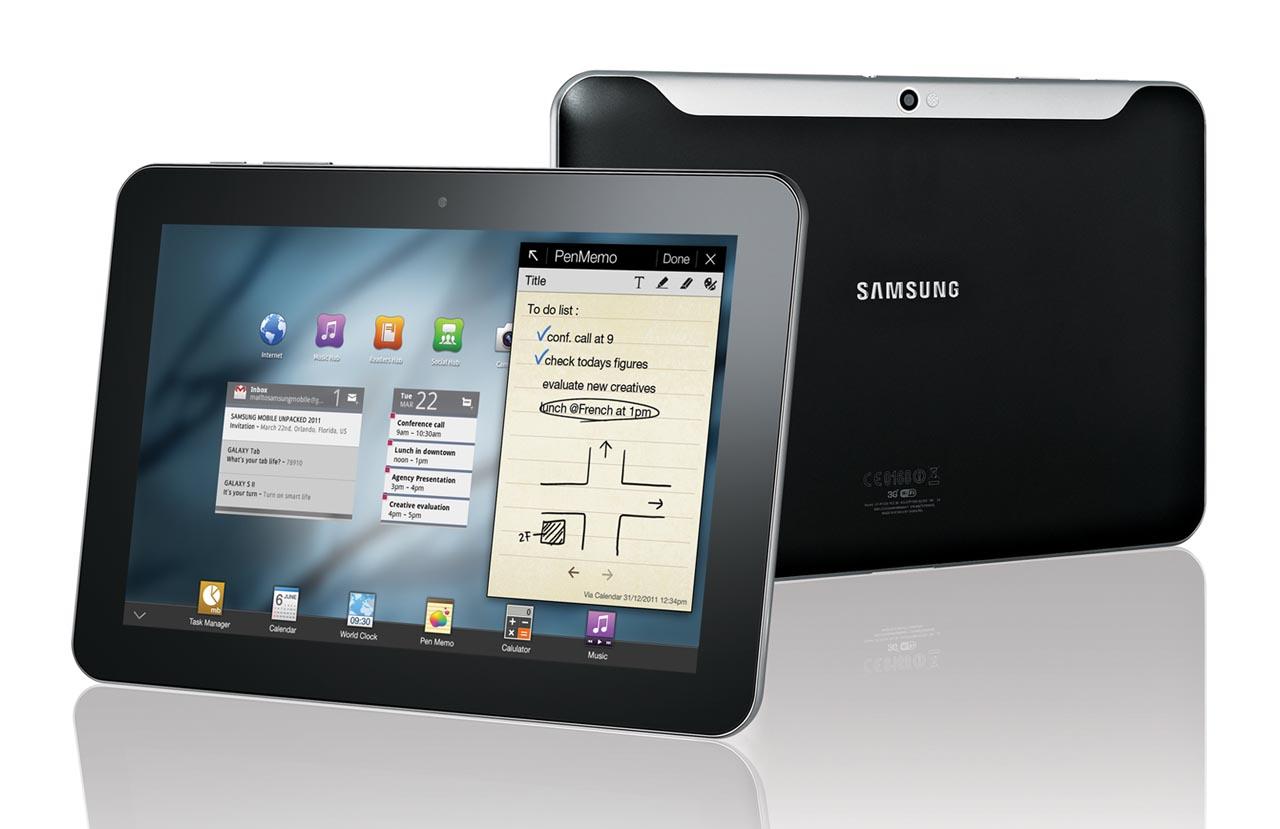Samsung Galaxy Tab 10.1 i Galaxy Tab 8.9