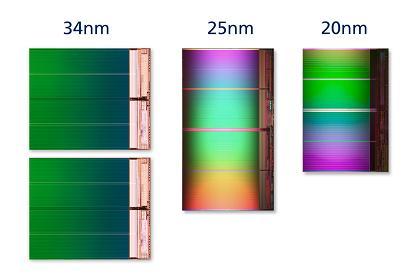 Intel i Micron predstavili 20nm NAND