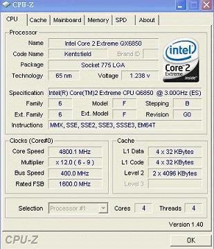 Intel QX6850