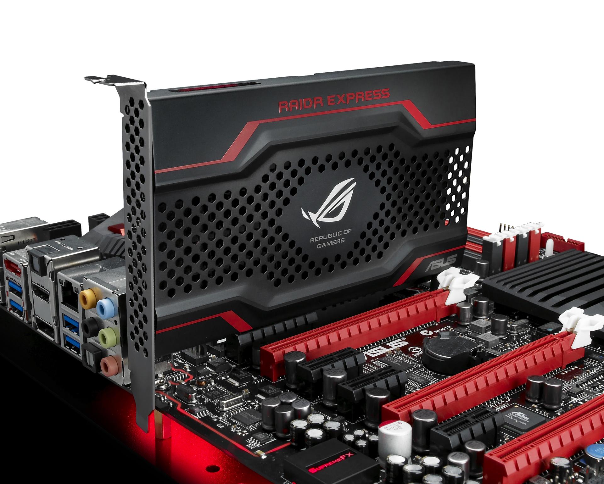 ASUS ROG predstavio  RAIDR Express SSD