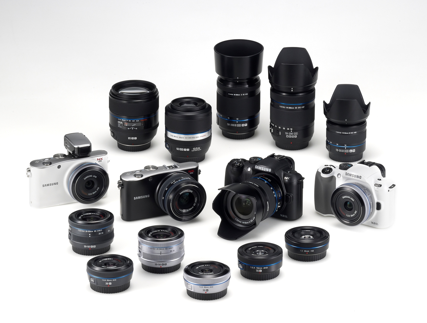 Samsung predstavio novu seriju leća za NX fotoaparate