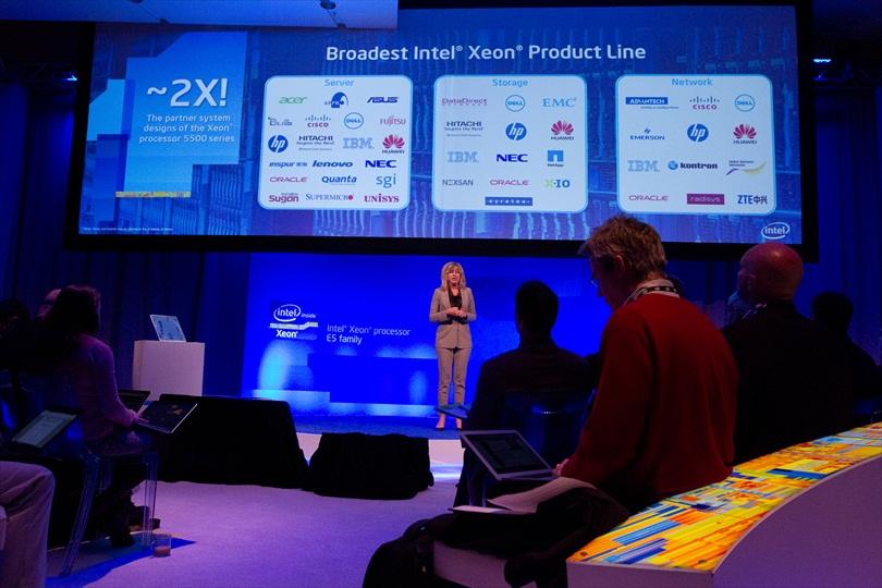 Intelova nova poslužiteljska tehnologija