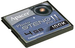 Apacer Photo Steno Pro II CompactFlash Card