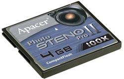 Apacer Photo Steno Pro II CompactFlash Card