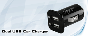 Arctic Dual USB Car Charger