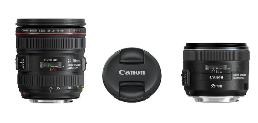 Canon predstavio nove objektive