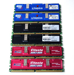 DDR2 800MHz roundup
