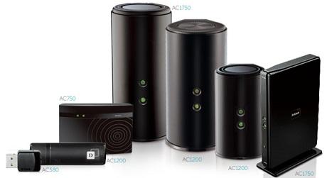 D-Link predstavlja čitavu seriju Wireless AC usmjernika