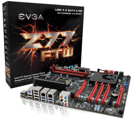 EVGA Z77 i Z75