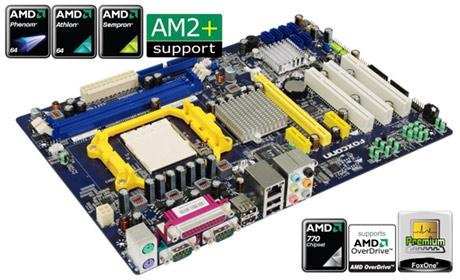 FOXCONN predstavlja A78AX seriju za AM2+ platformu