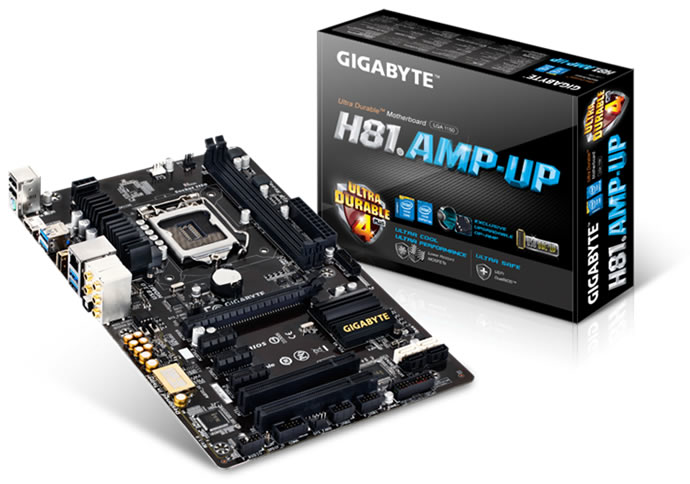 Gigabyte H81.AMP-UP