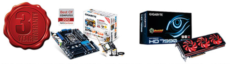 Gigabyte nudi 3 godine garancije za matične  ploče i grafičke kartice prodane u Hrvatskoj