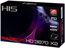 HIS Radeon HD3870 x2