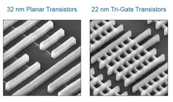Intel 22nm 3-D Tri-Gate transistor tehnologija