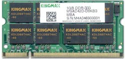 Kingmax 1GB DDR333 SO-DIMM
