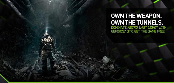 Metro: Last Light dostupan uz Nvidia kartice