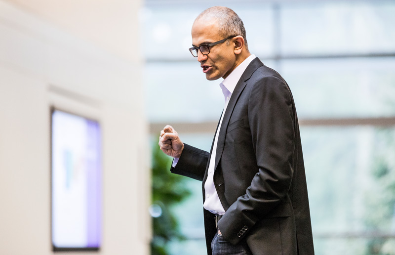 Satya Nadella novi CEO Microsofta