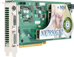 MSI NX7950GX2
