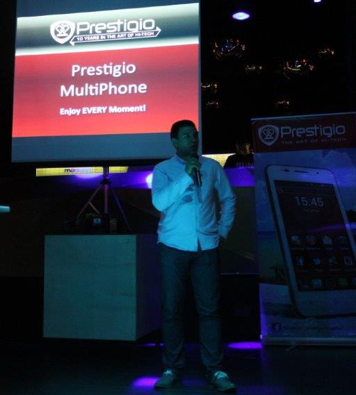 Prestigio predstavio novu seriju MultiPhone pametnih  telefona
