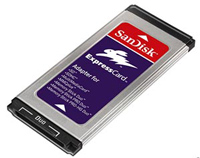 SanDisk MultiCard adapter