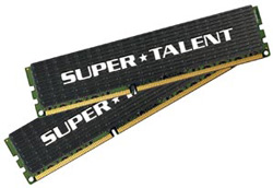 Super Talent DDR3-1600 MHz