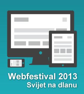 "Nagradno  natjecanje: ""Webfestival 2013"""