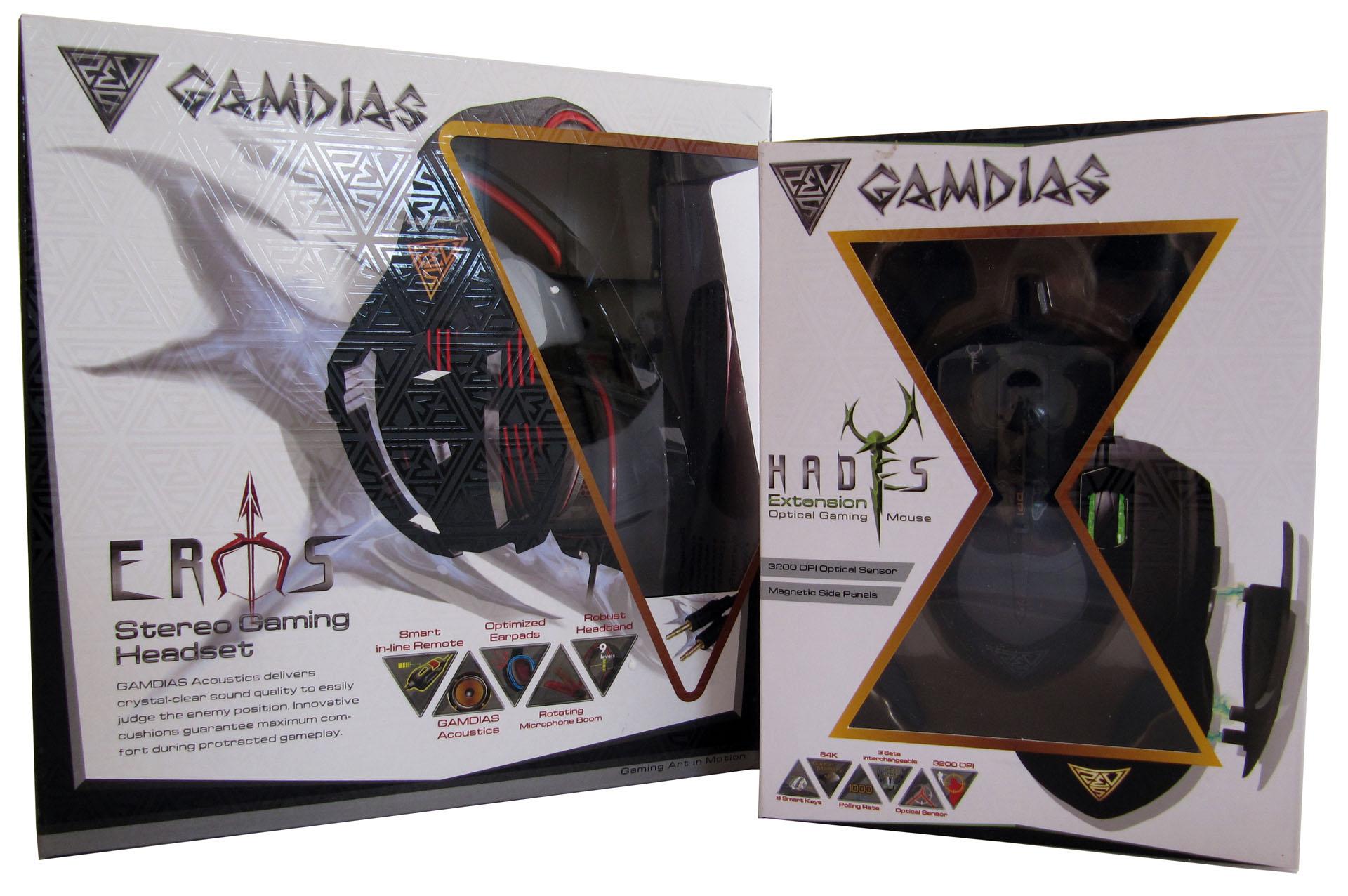 Gamdias Eros & Hades test