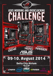 ASUS overclocking and modding challenge u Beogradu