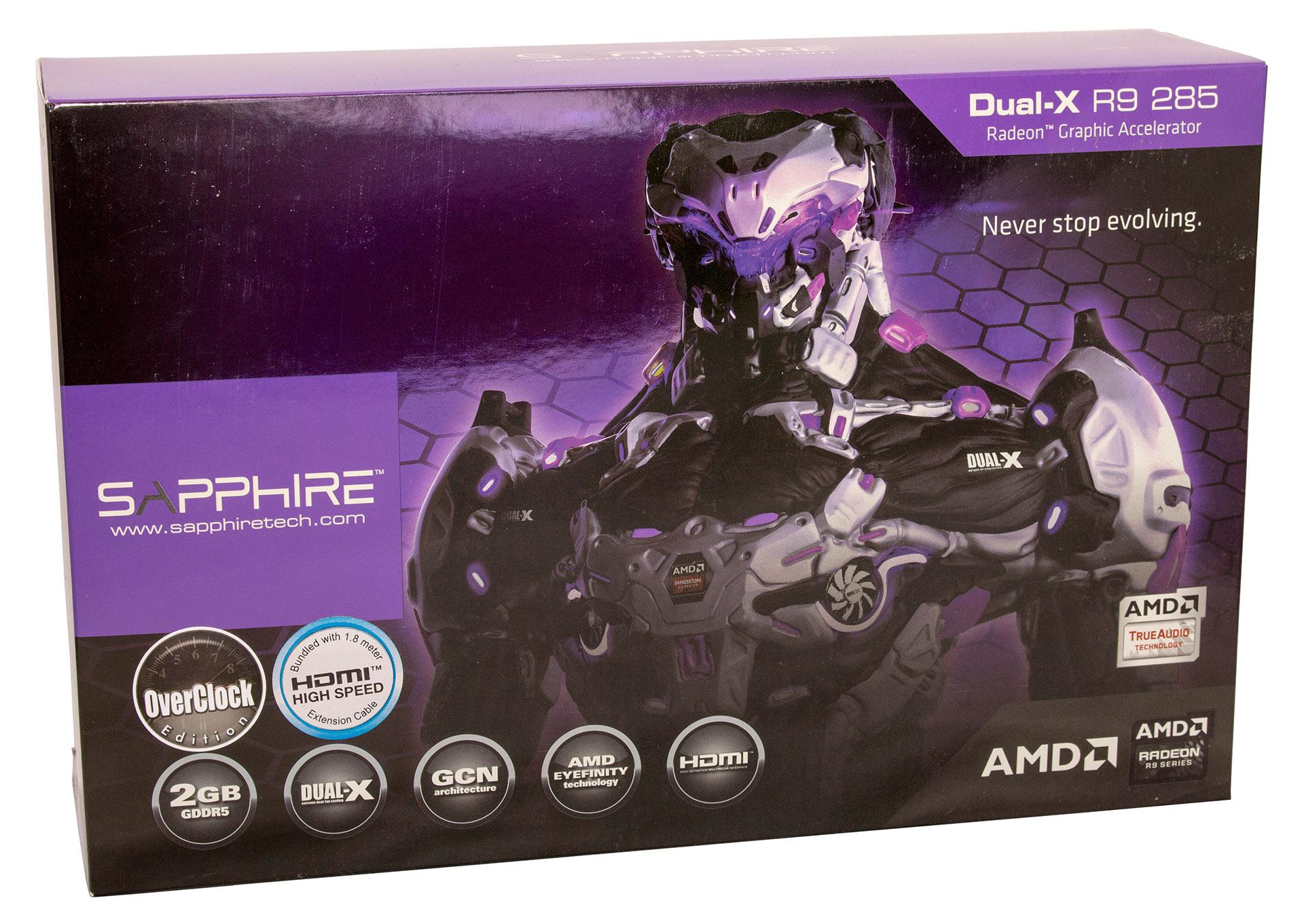Sapphire R9 285 Dual-X test