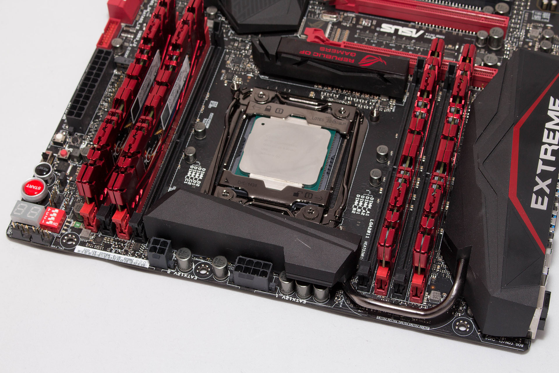 Asus Rampage V Extreme test