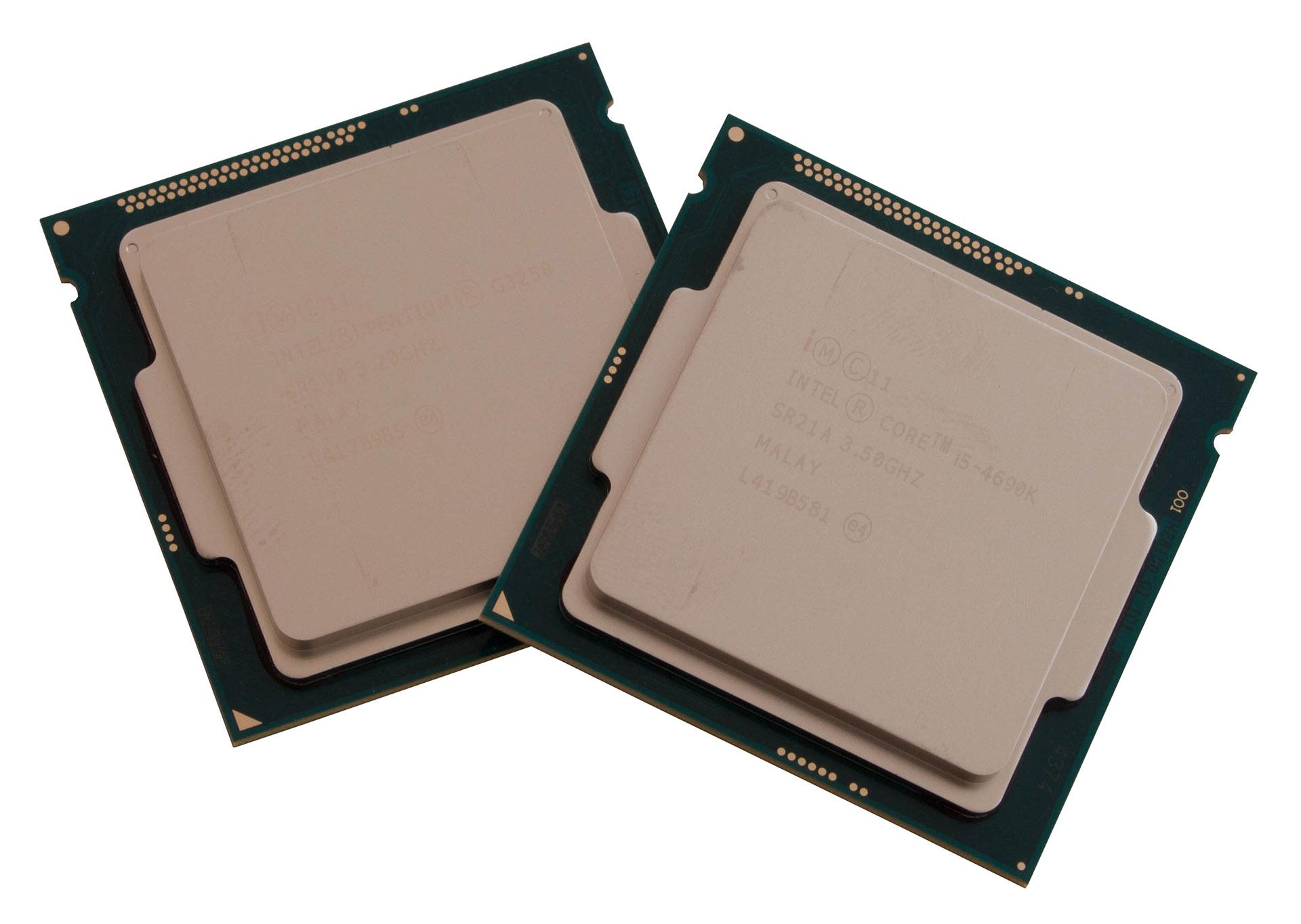 Intel Core i5-4690K & Pentium G3258 test