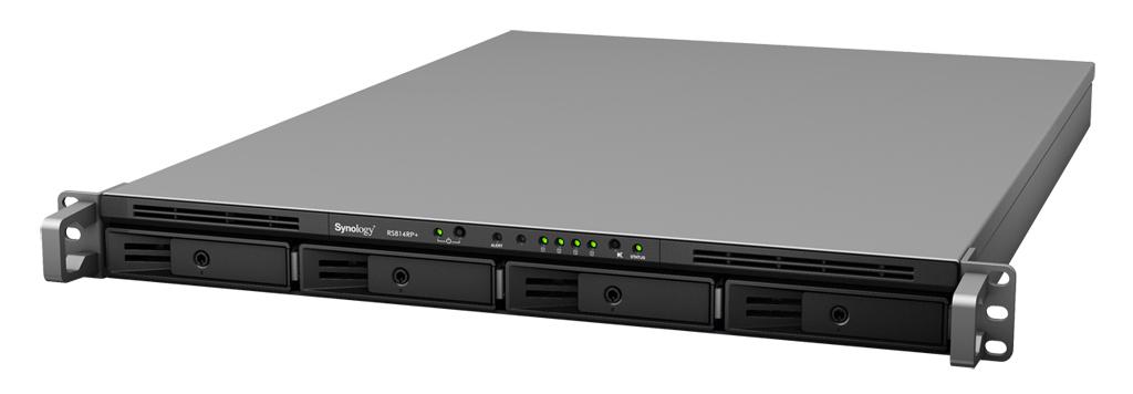 Synology RackStation RS814+ – šaren, a ozbiljan