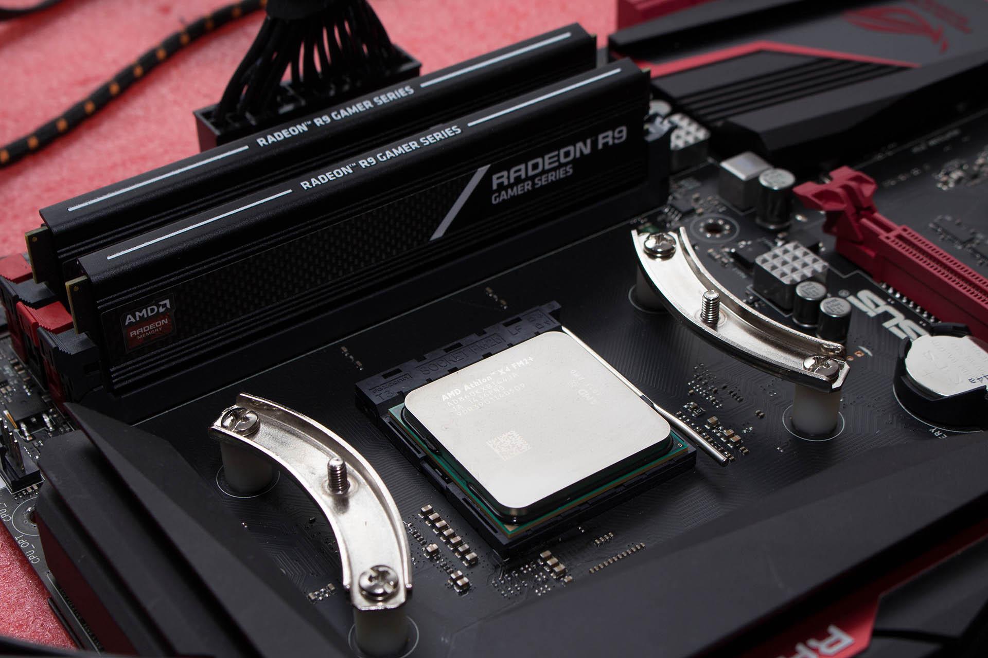 AMD Athlon X4 860K & ASUS Crossblade Ranger test