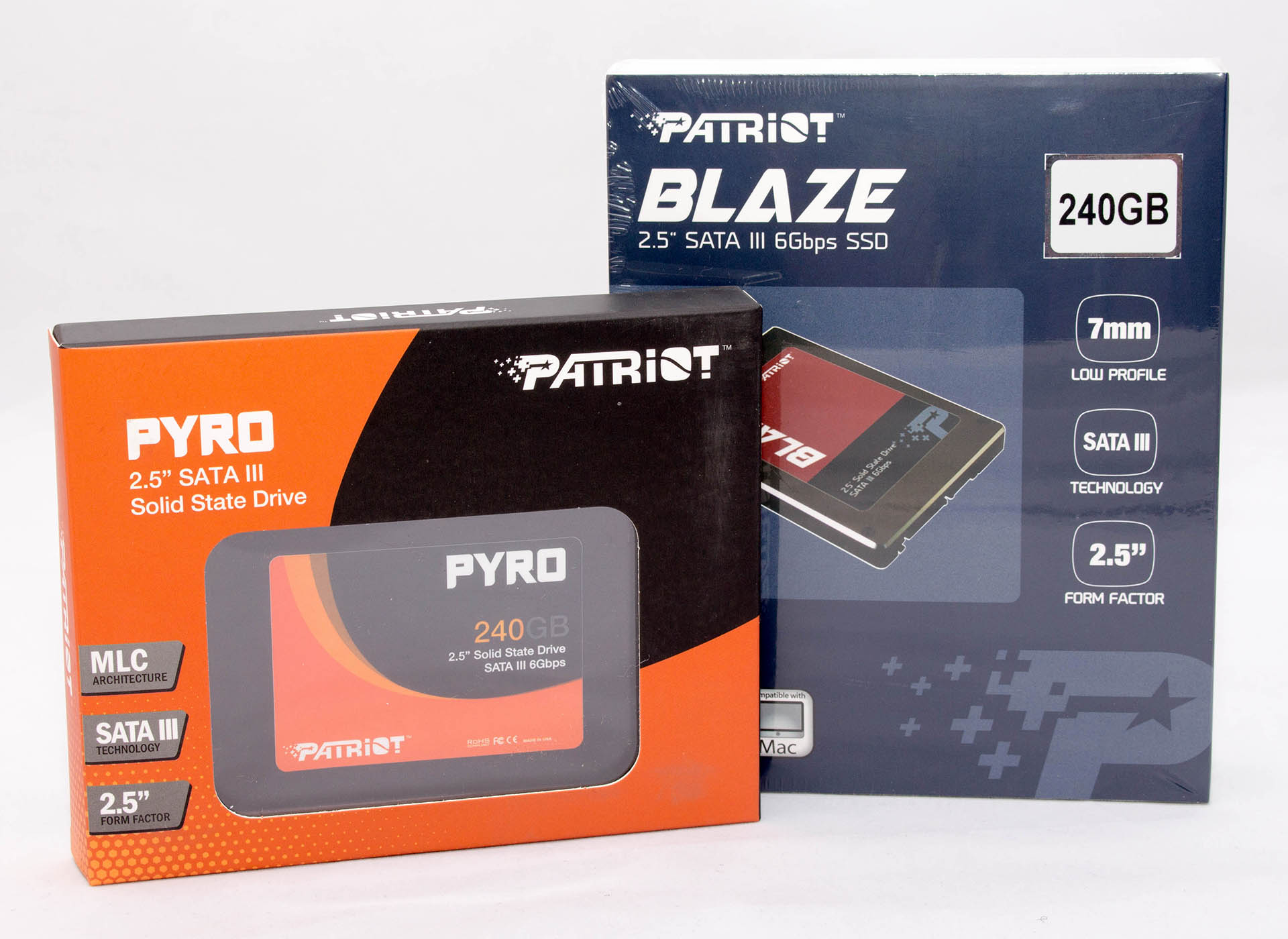 Patriot Blaze & Pyro 240GB – brzi test