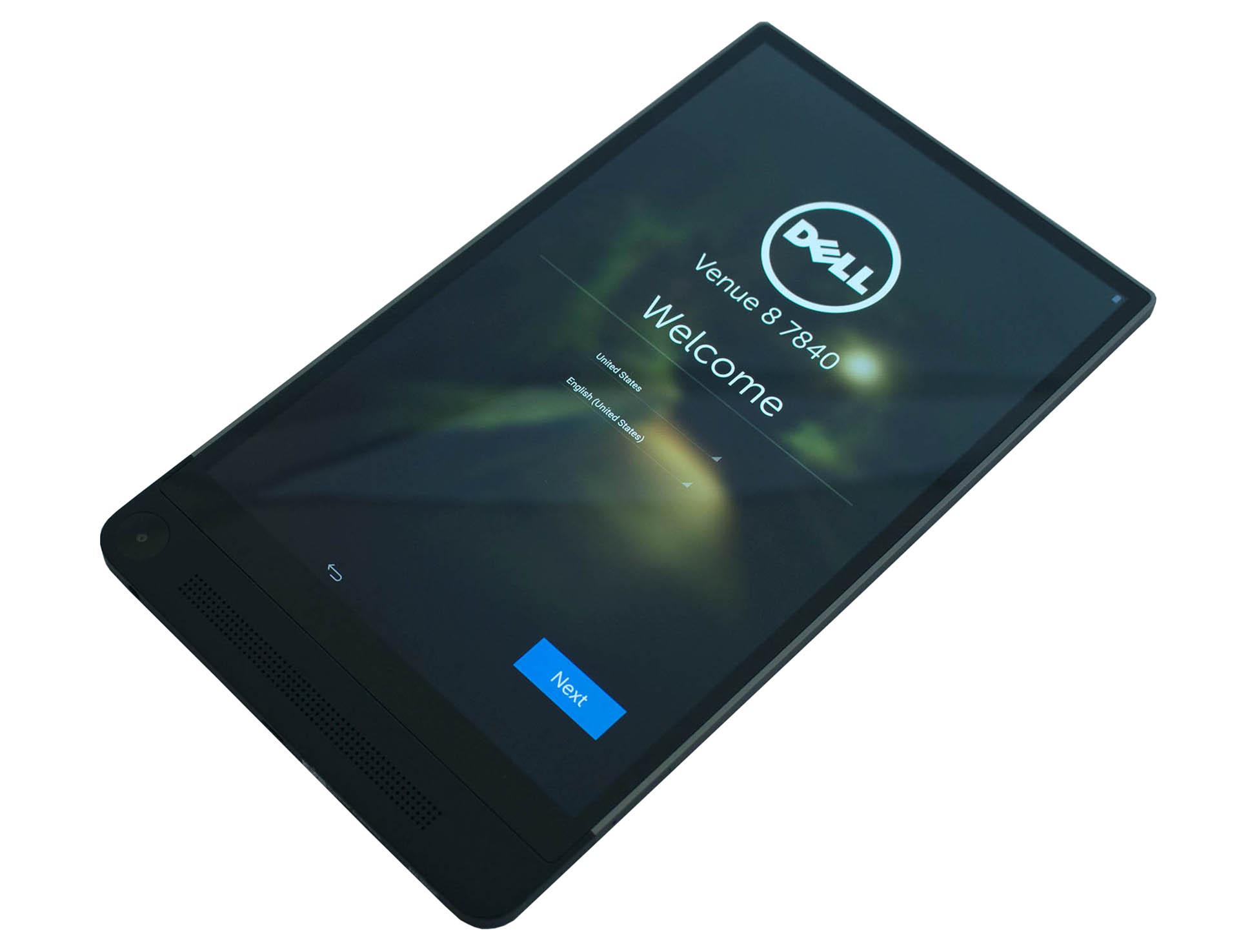 Dell Venue 8 7840 test