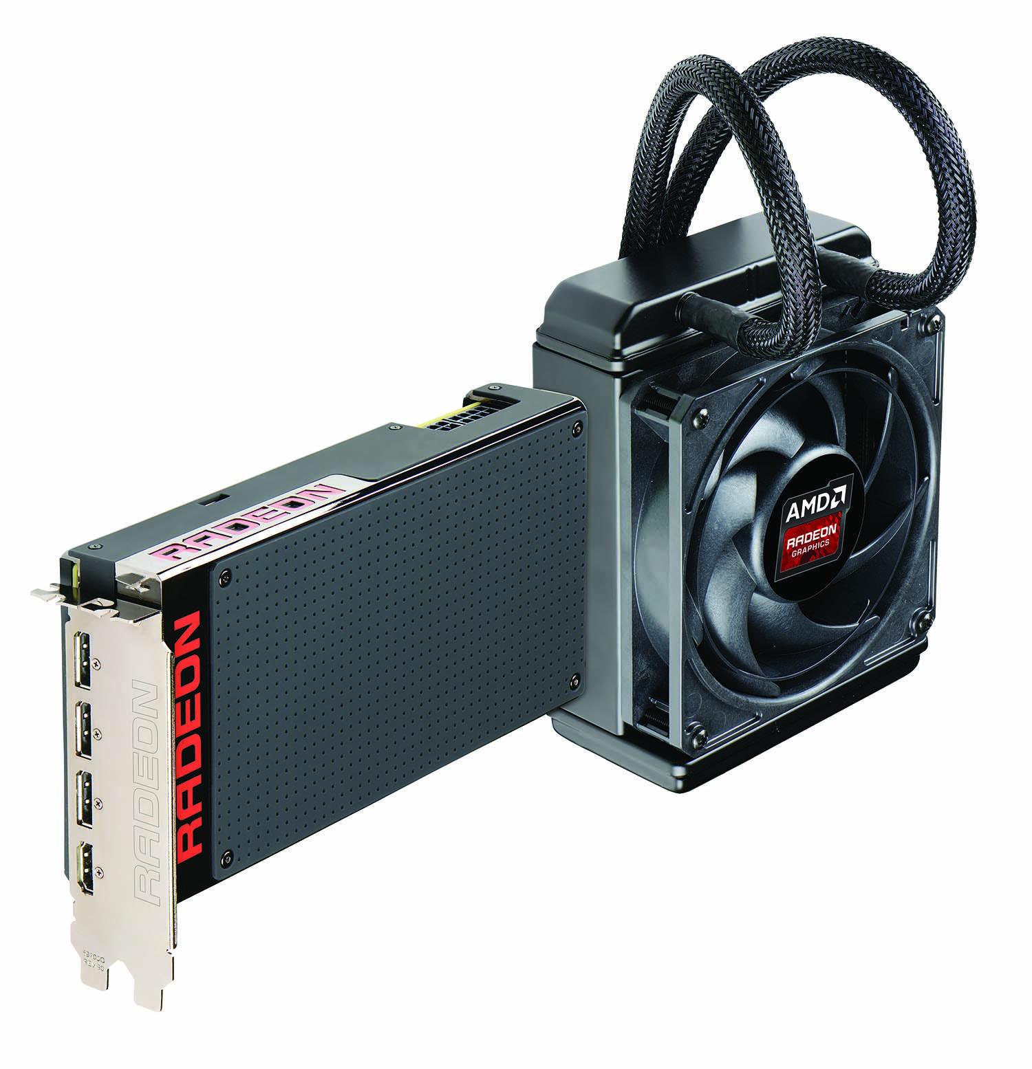 AMD Radeon R9 Fury X test