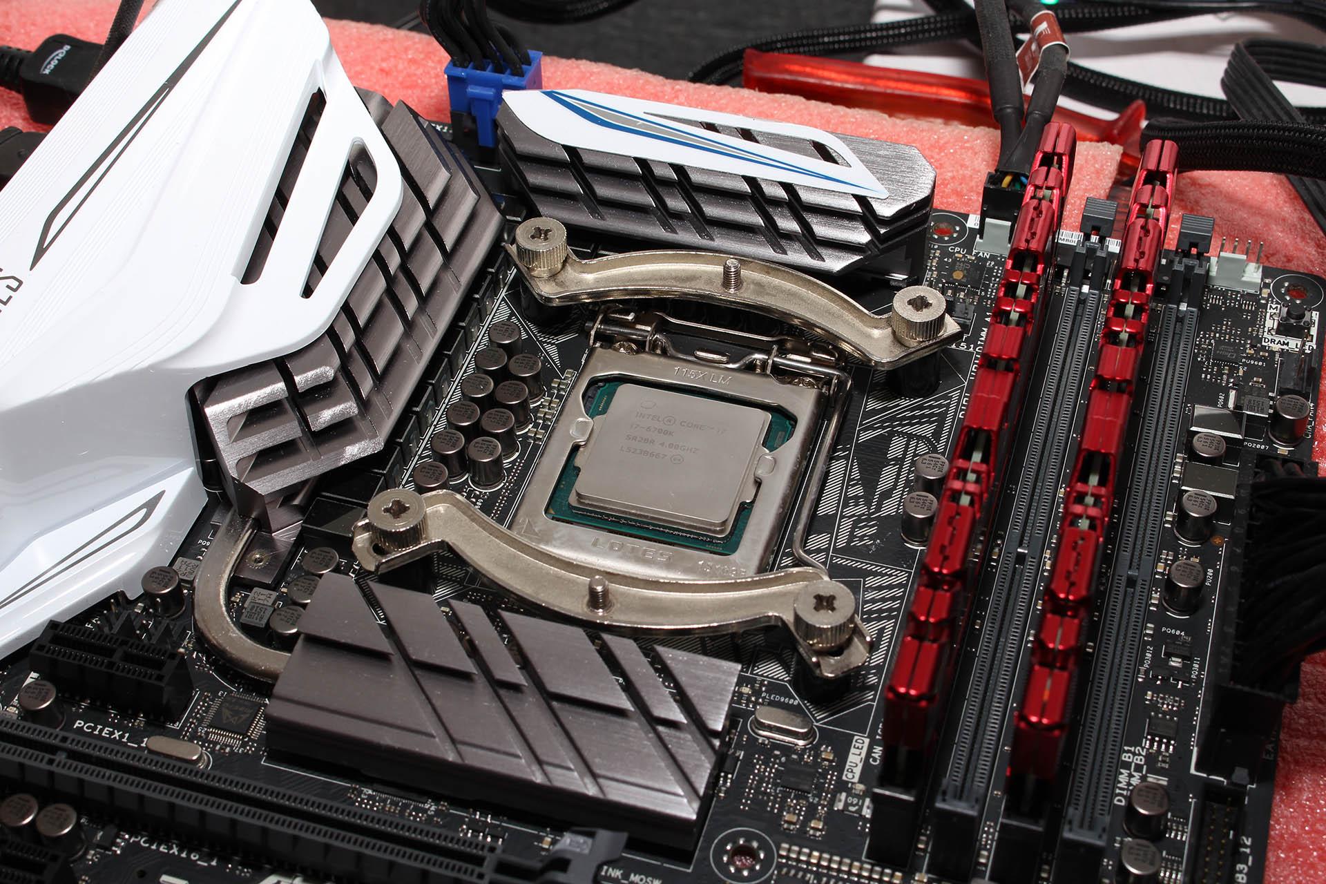 Intel i7-6700K test