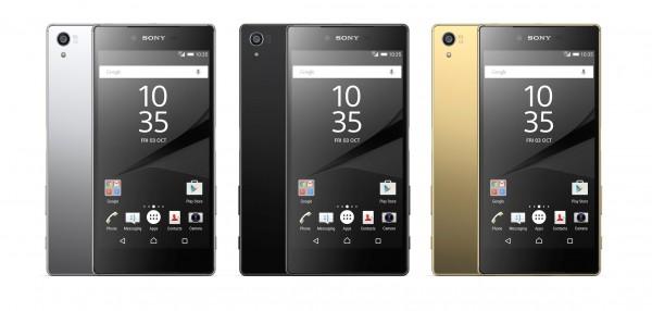 Sony Xperia Z5, Z5 Compact i Z5 Premium